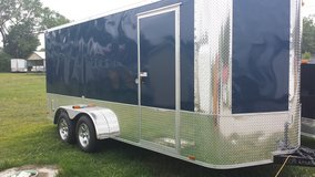 7'x16' Enclosed Motorcycle Trailer in Camp Lejeune, North Carolina