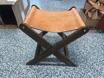 Handmade Leather Stool in Camp Lejeune, North Carolina