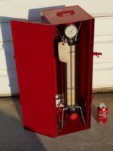 ROBINAIR Dial-A-Charge CYLINDER w/Original Metal Cabinet in Vacaville, California