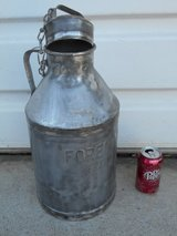 "Antique 2 Gal. Milk Can ""FOREMOST"" DAIRY in Travis AFB, California"