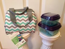 NWT 4 pc. Insulated Lunch Bag & Containers in Aurora, Illinois