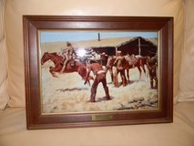 Frederic Remington's Coming and Going of the Pony Express in Palatine, Illinois