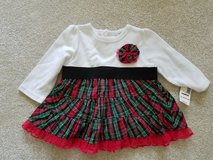NEW Girl's 3-6 month Xmas dress in Naperville, Illinois