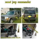 2006 jeep and 2 strollers for sale (multipost) in Hinesville, Georgia