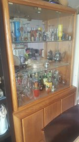 Huge glass front cabinet/you haul in Fort Leonard Wood, Missouri