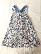 Old Navy Blue Floral Dress Size 4T in Ramstein, Germany