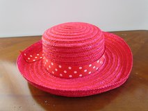 Red Straw Hat in Algonquin, Illinois