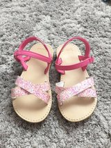 Gymboree Pink Glittery Sandals Size 9 in Ramstein, Germany