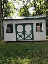 10x16 Storage Shed in Murfreesboro, Tennessee