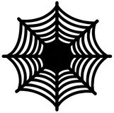 NIP! Halloween Spider web Die Cut Chargers/Placemats in Batavia, Illinois