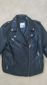 Leather moto jacket in Naperville, Illinois