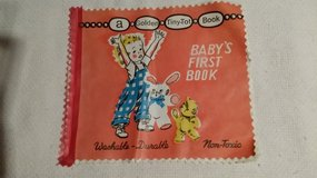 Vintage Baby's First Book - Golden - Washable in Glendale Heights, Illinois