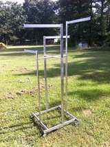 Stainless Steel Clothing Racks - 4 Arms in Perry, Georgia