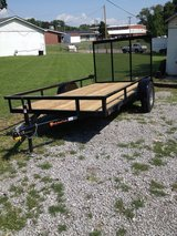 6x12 Utility heavy duty trailer A Frame square tubing in Fort Campbell, Kentucky