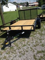 6x10 Heavy duty square tubing a-frame trailer in Fort Campbell, Kentucky
