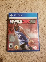 PS4 NBA 2K15 Game in Camp Lejeune, North Carolina
