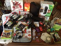 Xbox 360 and lot of accessories. in Naperville, Illinois