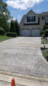 Concrete work in Sugar Grove, Illinois
