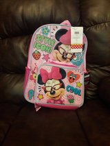 Minnie Mouse back pack with lunch box in Leesville, Louisiana
