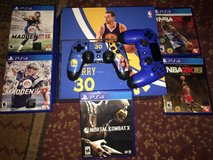 PS4 system and games in Brookfield, Wisconsin