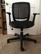 Well Loved Black Swivel and Adjustable Height Office Chair in Camp Lejeune, North Carolina