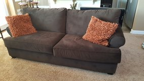 Couch and loveseat to include pillows in Fort Bragg, North Carolina
