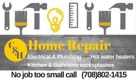 "Call for ""We do all your home repairs 708-802-1415 in Aurora, Illinois"