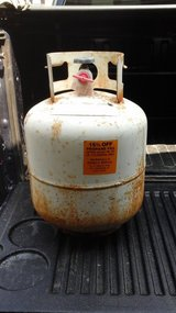 Propane tank in St. Charles, Illinois
