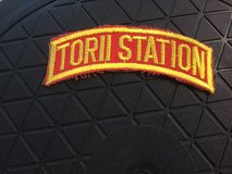 Torii Station okinawa made 1980's tab for tour jacket cruise shadowbox army patch in Okinawa, Japan