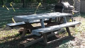 Picnic Table in Converse, Texas