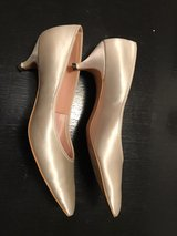 Women's satin dress/wedding shoes in Mountain Home, Idaho