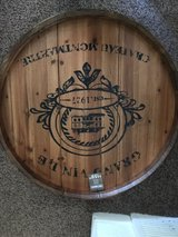 wine barrel wall decor in Kansas City, Missouri