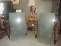 2 Sheets Tempered, Green Frosted Glass in Oswego, Illinois