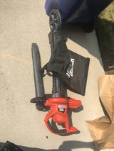 Electric leaf blower & mulcher in Schaumburg, Illinois