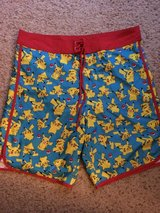 Pokémon swim shorts men's medium in Travis AFB, California