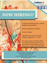 CoWorx is Hiring!! Day and Night Shift in Shorewood, Illinois