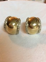 14K Gold & Sterling Peter Brams Design Chunky Hoop Vintage Earrings ~ Signed PBD/14K/925 in 29 Palms, California