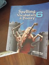 Homeschool! Abeka Spelling, Vocabulary & Poetry 6 in Camp Lejeune, North Carolina