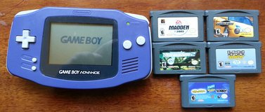 Nintendo GBA + Games in Vacaville, California