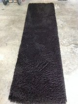 """High Quality Black Shaggy Rug 31"""" X 116"""" inches in Fort Campbell, Kentucky"""