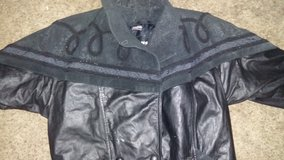 Wilson leather coat in Mountain Home, Idaho