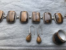 Tiger Eye Earings, Bracelet and ring in St. Charles, Illinois