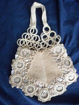 Evening Bag Crochet wagon wheel design with satin lining in Lake Elsinore, California