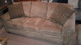 Brown suede studded rustic furniture in Fort Carson, Colorado