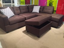 SALE! CONTEMPORARY SOFA CHAISE SECTIONAL WITH STORAGE ! in Camp Pendleton, California