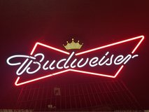 Budweiser sign in Nellis AFB, Nevada