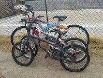 Bikes in Yucca Valley, California