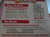 Haunted Trails 4HR Unlimited Wristband Fundraiser in Joliet, Illinois