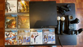 PS 3 with 6 games in Fort Lewis, Washington