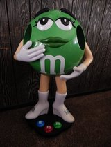3 ft Green M & M Store Display on Casters Wheels in Barstow, California